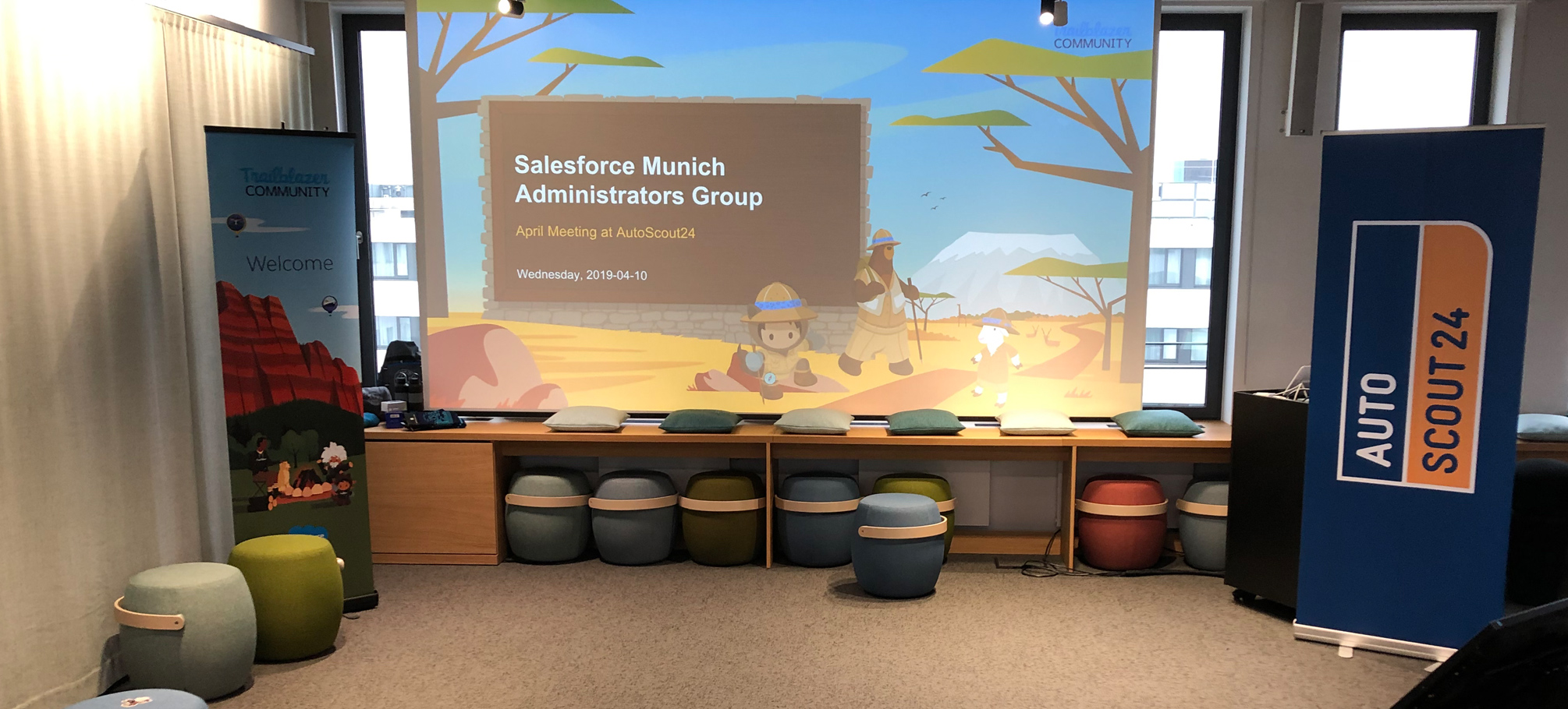 Salesforce Munich Administrators Group April Meeting